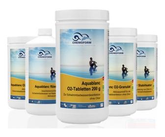 Chemoform aktyvusis deguonis Aquablanc