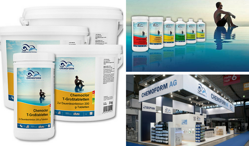 Kompanija Chemoform AG. Vokiška kokybė