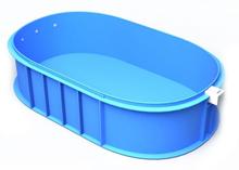 Ovalus plastikinis baseinas
