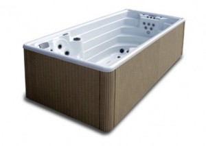 Kilnojamas masazinis spa baseinas AMAZON SWIMSPA