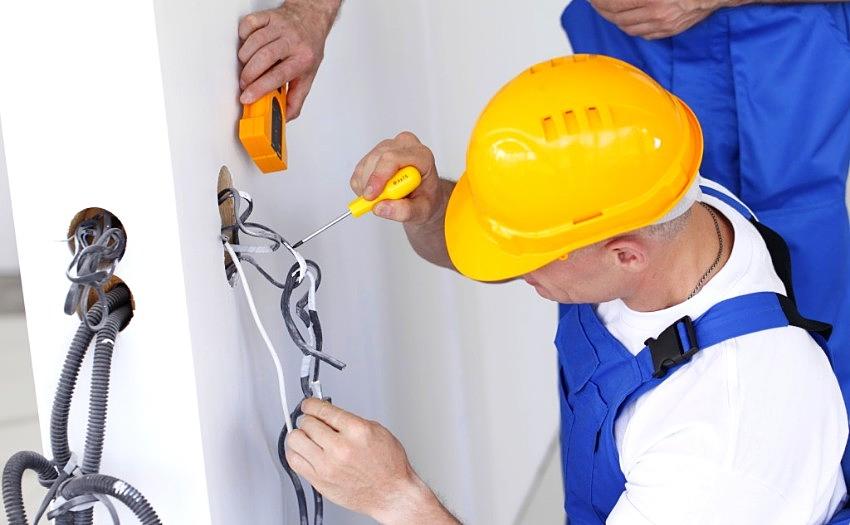 Baseino elektros instaliacijos remontas