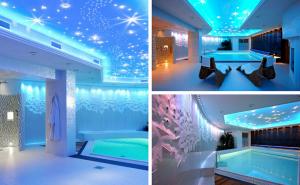 Unikalus šviesolaidinis baseinų apšvietimas CARIITTI