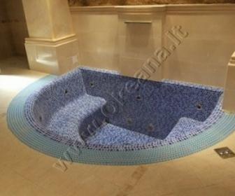 Masažinis betonuojamas mini SPA baseinas