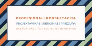 Profesionali konsultacija, baseinų projektavimas, įrengimas, priežiūra