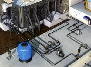 Betoniniu baseinu iranga