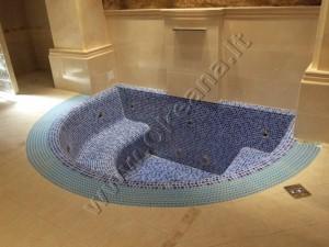 Masažinis betonuojamas SPA baseinas