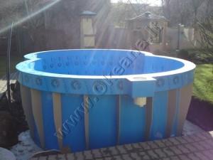 Plastikinio baseino įrengimas