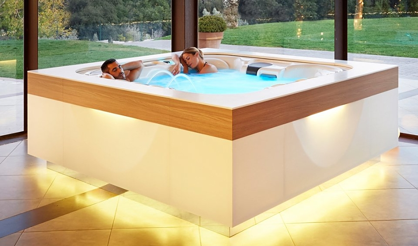 Outdoor Mini Jacuzzi.Spa Baseinai Masaziniai Spa Baseinai Mini Baseinai Dzakuzi